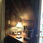 Sideboard under the roof in a maid's room