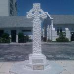Beautiful Cross, near Clock Tower