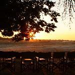 Sunset over Tena Tena