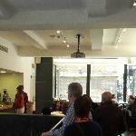 Cafe on ground floor