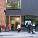 New frontage on Ramillies St