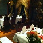 Dinning at Prince of India