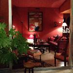 L'ombre du Palais, Avignon: Blick in den Salon