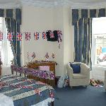 our room after our 'jubilee/birthday' makeover!