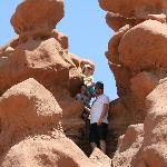 A shot from Goblin Valley State Park -- kids love it