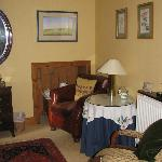 Sitting room off the bedroom