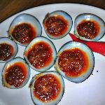 Grilled Clam with Special Sauce
