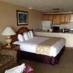 king oceanfront room, very nice