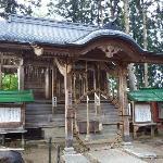 白神神社の「茅の輪」