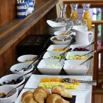 Breakfast starters (additional hot menu)