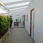 Club Lounge corridor