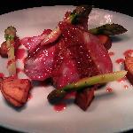 Pan roasted duck breast