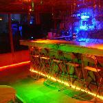 bar in the night