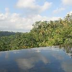 View from our infinity pool