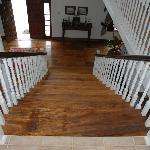 Beautiful wood floors