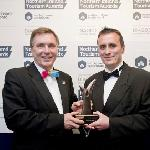 Receiving Best New Tourism Project 2012 from N. Ireland Tourist Board