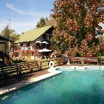 Alpenhaus en otoño