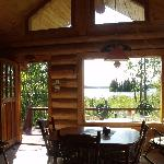 view from the Loon cabin