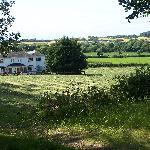Ballindrum Farm B&B set in the fields.