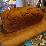 Fresh warm Pumpkin Bread