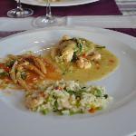 Veggie risotto, Grandma's gnocchi, Lobster Ravioli
