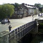 View of the bridge over the RIver Wensum