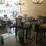 Interior of Sambucus restaurant