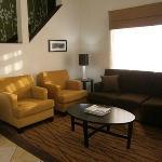 Spacious Lobby & Seating Area