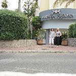 front ot hotel