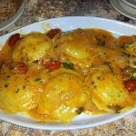 My delicious Lobster Ravioli
