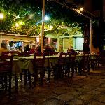 Taverna Samiopoula nachts