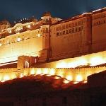 Amber fort show