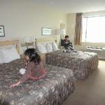 Good size room and nice comfortable beds