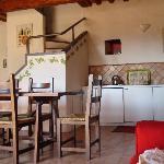 Borgo casaglia appartamento Ovile cucina