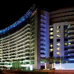TIME Oak Hotel & Suites at night