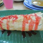 Strawberry paper prata