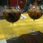 Jack Daniels & Coke at Zebra... :o)