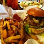 This is the Honest Burger with though super rosemary fries