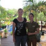 One of the friendly staff Voleak