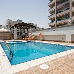 Swimming pool lounge