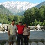 With Mr. Khemraj