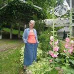 Sandra, owner of Conyer's House Inn and Stable, Sperryville, Va.