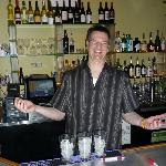 Dave, the bartender, is a real hoot!