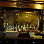 Handcarved bar from England