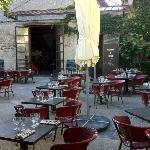 La terrasse du Bistrot du Moulin