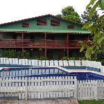 One of several buildings at Pousada Bela Vista