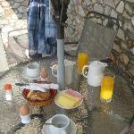 morgenmad i bar/poolen