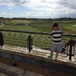 Lewis Singh at Carnoustie hotel
