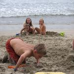 Great sand for the kids