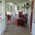 Wonderfully Quiet Front Porch